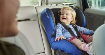 Kindersitz mit Schlafposition